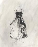 Black Evening Gown II