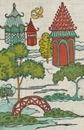 Pagoda Landscape I