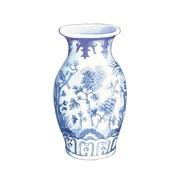 Ginger Jar II on White
