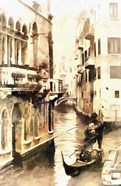 Gondoliers in Venice Vintage