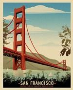 Golden Gate Bridge Daybreak