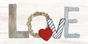 Rustic Valentine Love