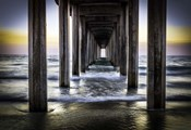 Cali Pier Sunset