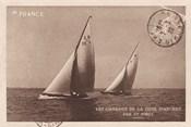 Vintage Sailing I Sepia