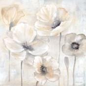 Gray Poppy Garden II