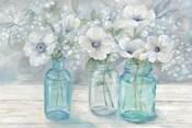 Vintage Jar Bouquet Landscape