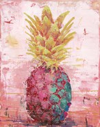 Painted Pineapple I