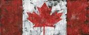 Canada Maple Leaf Landscape