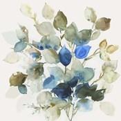 Blue Leaves II