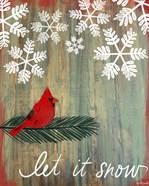 Let It Snow Cardinal