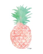 Mint and Pink Pineapple