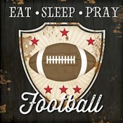 Eat, Sleep, Pray, Football