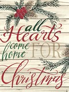 All Hearts Come Home for Christmas Shiplap