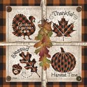 Autumn Four Square Harvest Time