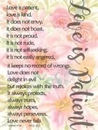 Floral Love is Patient