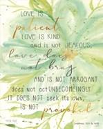 Teal Love is Patient