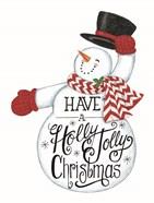 Have a Holly Jolly Christmas Snowman