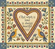 That Which is Loved is Always Beautiful Sampler