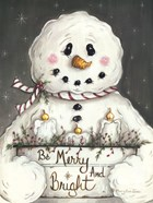Merry and Bright Snowman