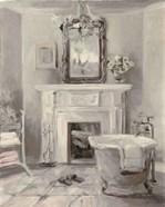 French Bath IV Gray