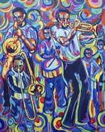 New Orleans Street Jazz Music