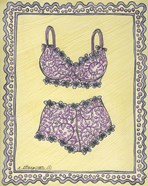 Lingerie Pink Bra Panties