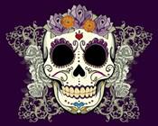 DOD-Flower Skull