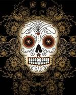 DOD-Vintage Sugar Skull