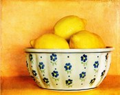 StillLife-Bowl of Lemons