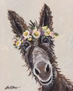Donkey Rufus Flower Crown