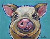 Pig Cesar Tongue Out