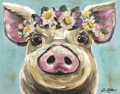 Pig Rosie Flower Crown 3