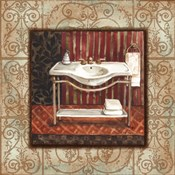 Bordo Vintage Bathroom Sink