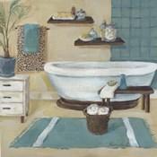 Cheetah Pattern Bath I