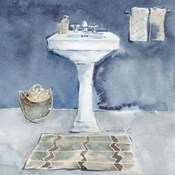 Watercolor Bathroom II