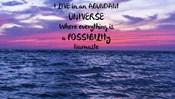 I Live In An Abundant Universe