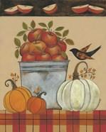 Tin Bucket of Apples