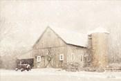 NY Winter Barn