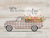 Be Happy Vintage Truck